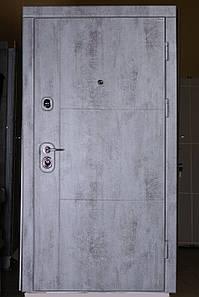 """Трёх-контурная входная дверь сталь 2мм. """"Бетон-1"""""""