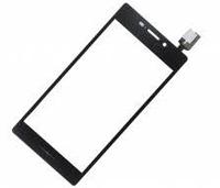 Тачскрин (сенсор) для Sony D2302 Xperia M2 Dual Sim S50h, D2303, D2305, D2306, черный