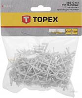 Крестики дистанционные Topex 1.5 мм 16В515