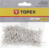 Крестики дистанционные Topex 2 мм 16В520