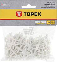 Крестики дистанционные Topex 2,5 мм