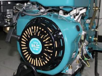 Бензиновый двигатель профессионального класса культиватора Konner&Sohnen KS 13HP-1350BG