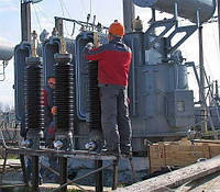 Техническое обслуживание трансформатора (с материалами)