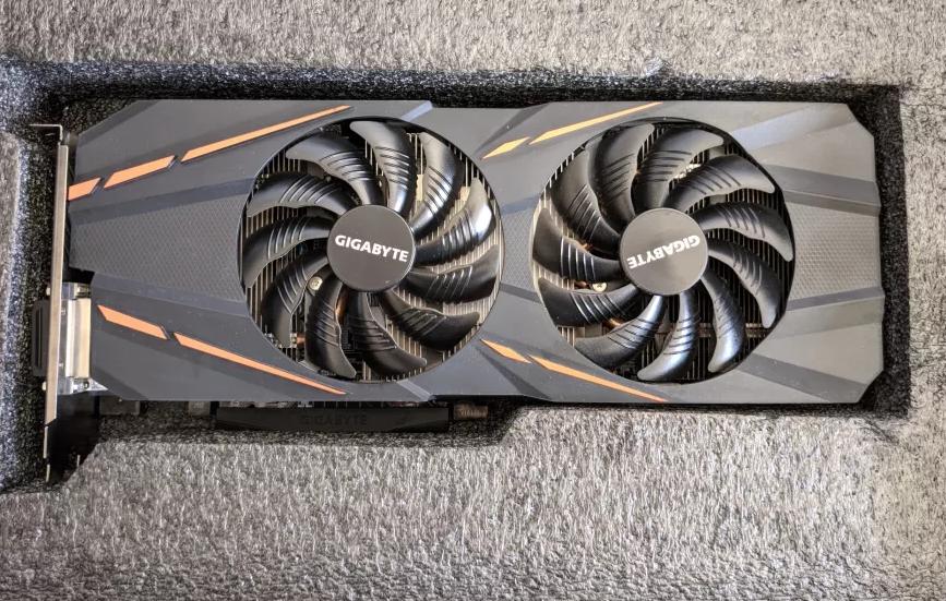 Видеокарта GIGABYTE GeForce GTX 1060 G1 Gaming 6G БУ!