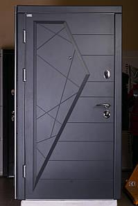 """Входная дверь """"Айсберг"""" Графит/Графит"""