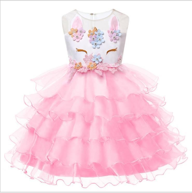 Детское нарядное платье 90