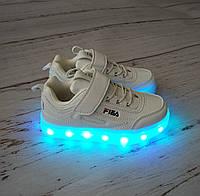 Кроссовки унисекс с LED подсветкой