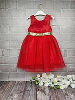 Платье нарядное Ангел (красн)
