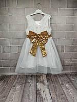 Платье нарядное Ангел (бел) 120