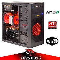 Недорогой Cовременный Игровой ПК ZEVS PC 8915 (Varian) Athlon X4 840 +RX 550 4GB + Игры