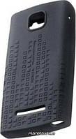 Nokia оригинальный силиконовый чехол для Nokia 5250 CC-1006 Black