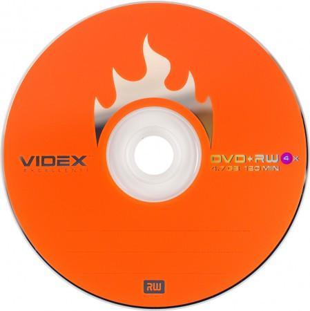 Videx DVD+RW 4.7 Gb 4x bulk 10