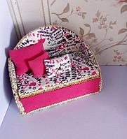 Диван - кровать для кукол Лол. Мебель для кукол Лол.