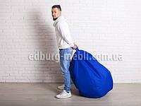 Кресло мешок груша   синий Oxford