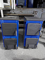 Котлы отопления на дровах Кливер 14 с плитой Улучшенная модель !!!