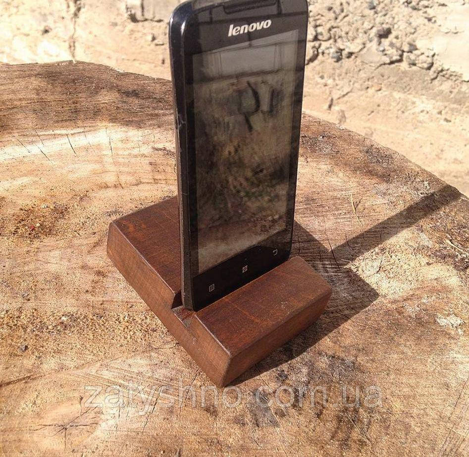 Подставка для телефона из дерева опт