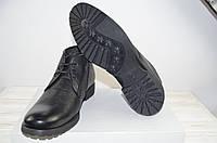 Ботинки мужские зимние Tezoro 11084-1 чёрные кожа, фото 1