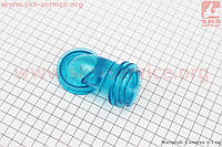Патрубок фильтра воздушного, силикон (СИНИЙ)