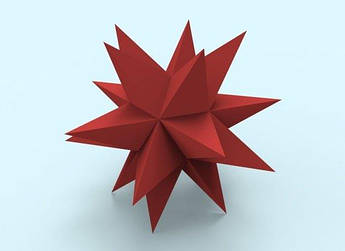 Papercraft Звезда