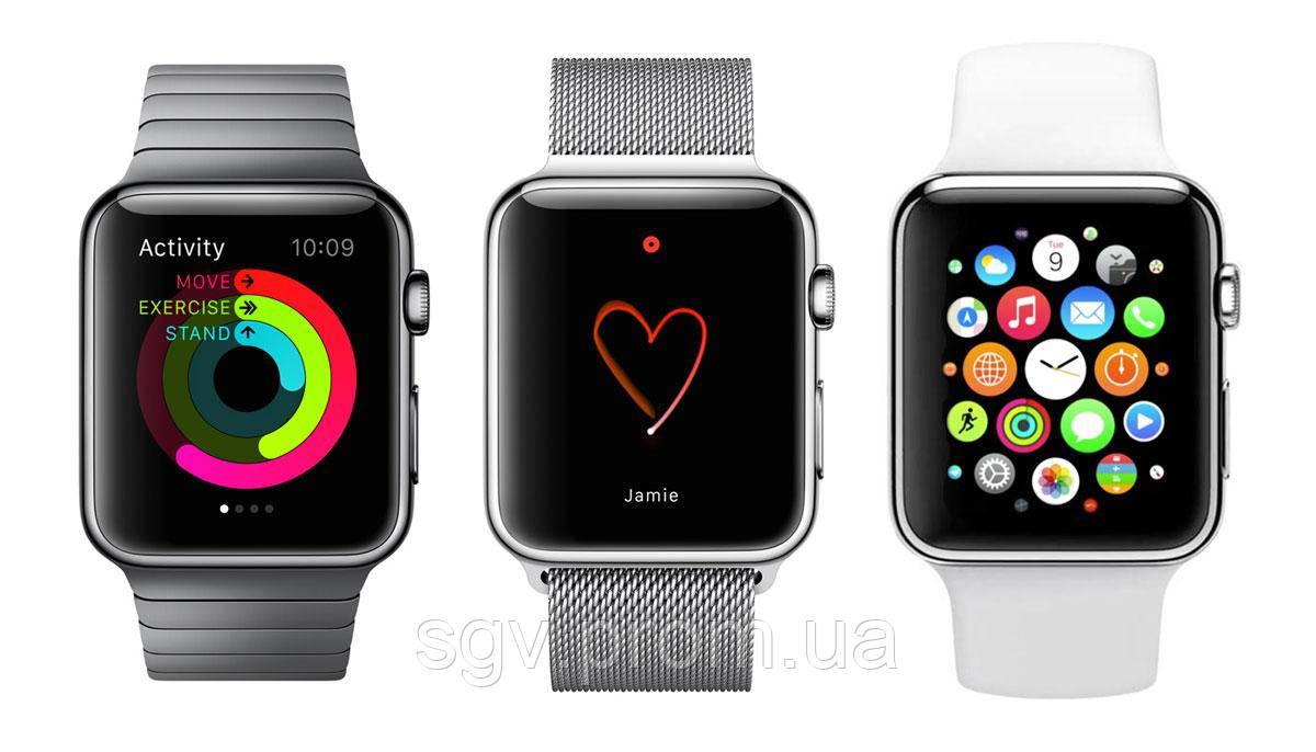 Значки и символы на часах AppleWatch