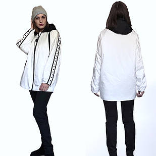 Дизайнерская Фабричная Куртка - TONGCOI. Гарантия высокого качества и стиля! Размеры 42-50 OVERSIZE