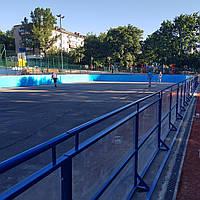 Производство ограждений для спортивных площадок и роллердромов