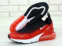 Мужские кроссовки Max 270 Черные, Реплика, фото 1