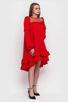Модное женское платье из софта (2 цвета), фото 2