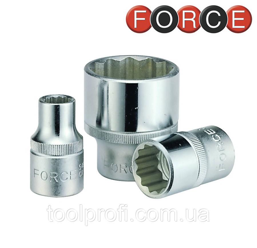 "Головка 12-гранная 1/4"", 13 мм (Force 52913)"