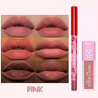 Набор помада+карандаш Lime Crime mini lip kit pink - ОРИГИНАЛ