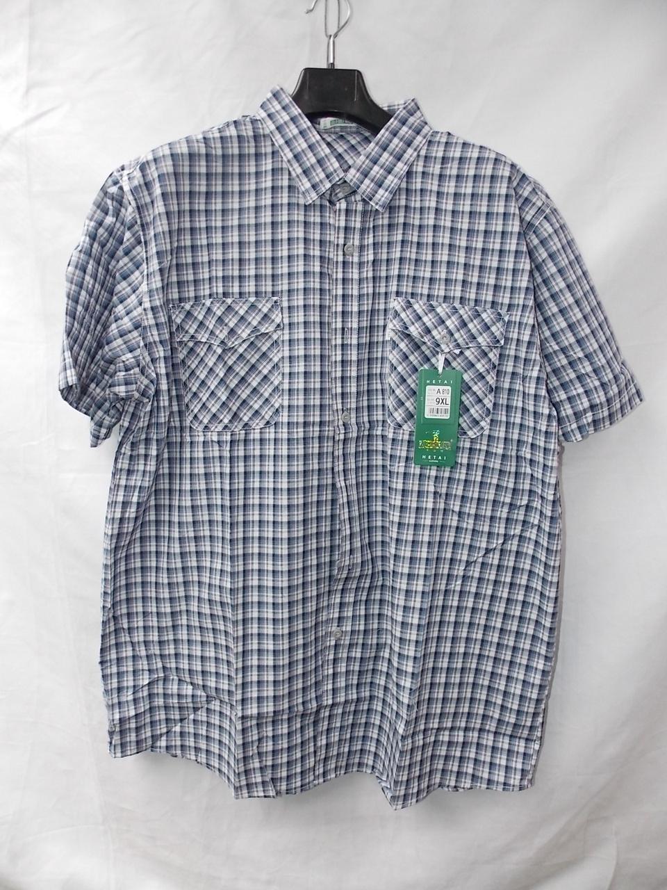 Чоловіча літня сорочка Баталов (р-р 56-64) з коротким рукавом оптом недорого зі складу в Одесі