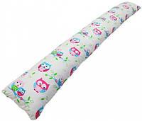 Подушка для беременных Kidigo Прямая (с наволочкой) Подушка для беременных Kidigo Прямая Сова (с наволочкой)