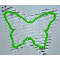 Трафарет для жидких обоев Бабочка А5