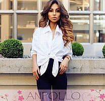 Блуза-сорочка 42-46р кольори білий.рожевий