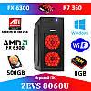 Игровой ПК ZEVS PC8060U FX6300 + R7 360 2GB