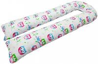 Подушка для беременных Kidigo U образная (с наволочкой) Подушка для беременных Kidigo U образная Сова (с наволочкой)