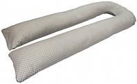 Подушка для беременных Kidigo U образная (с наволочкой) Подушка для беременных Kidigo U образная Горошек (с наволочкой)