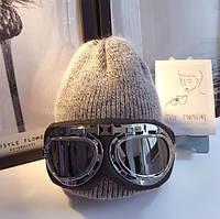Стильные ретро – очки для мотоциклистов (ОС-1003)