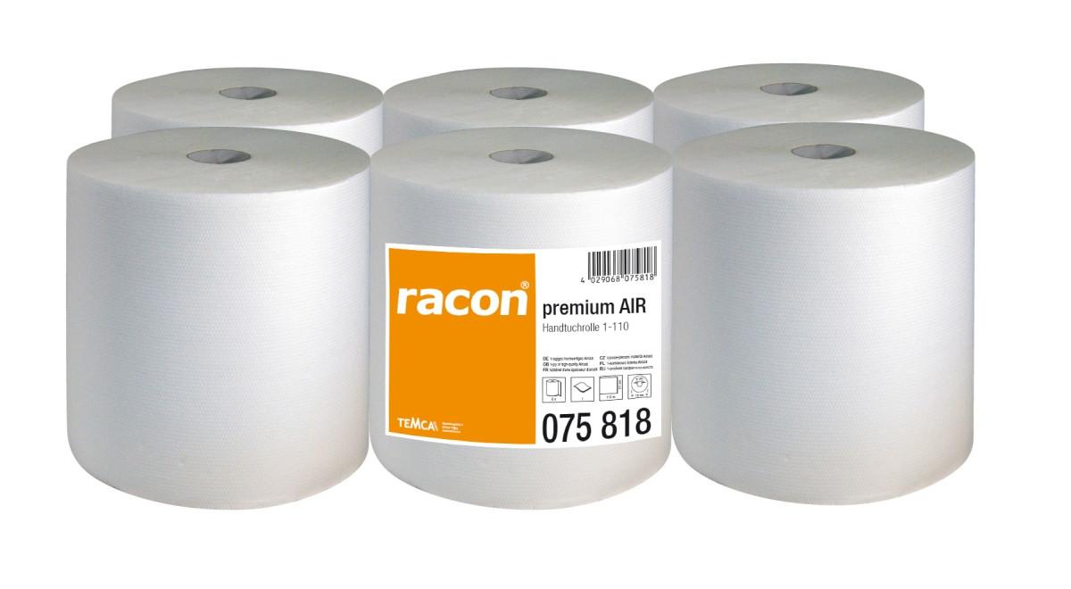 Полотенца бумажные в рулоне TEMCA Racon Air, 21см х 110м