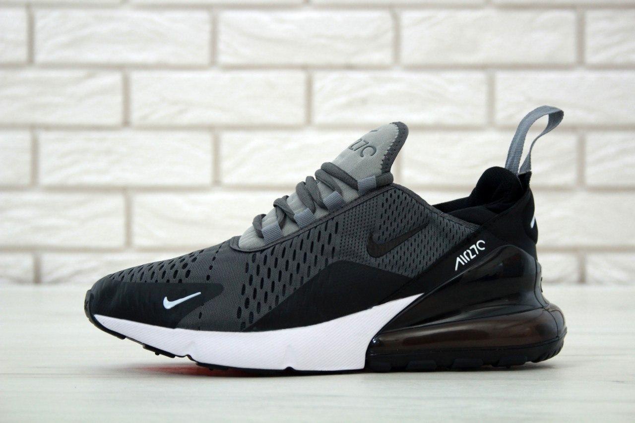 Мужские кроссовки Max 270 Серые, Реплика