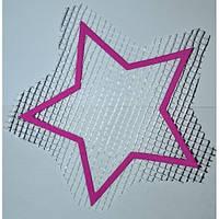 Трафарет для жидких обоев Звезда А5