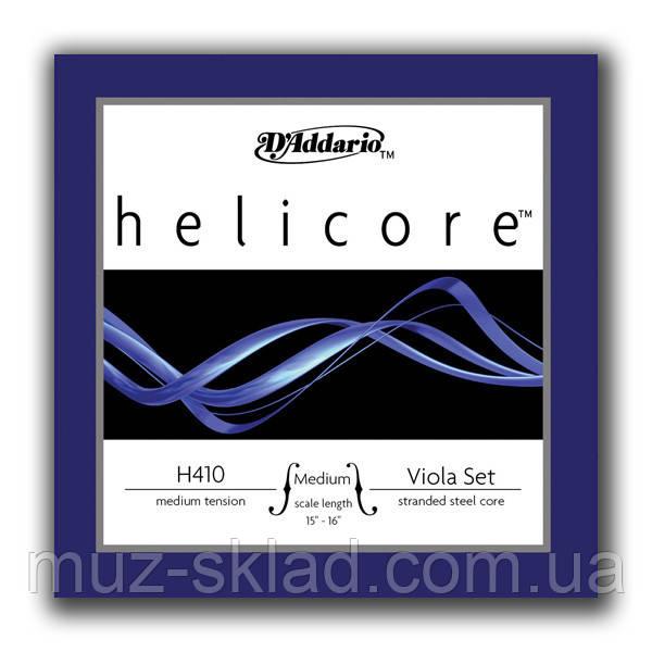 Струны для альта D'Addario H410 MM Helicore