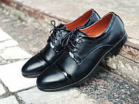 Мужские классические кожаные туфли дерби
