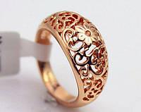 556 - Бижутерия женское кольцо - покрытие золото