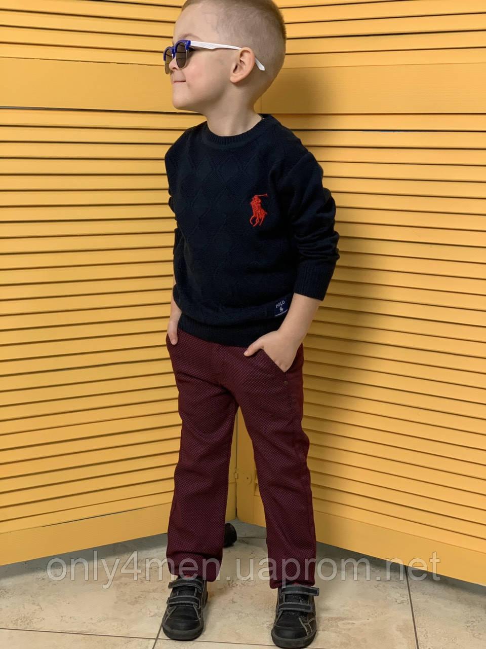 Дитячі штани для хлопчиків 98-104