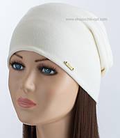 Удлиненная шапка унисекс TRK-Мята