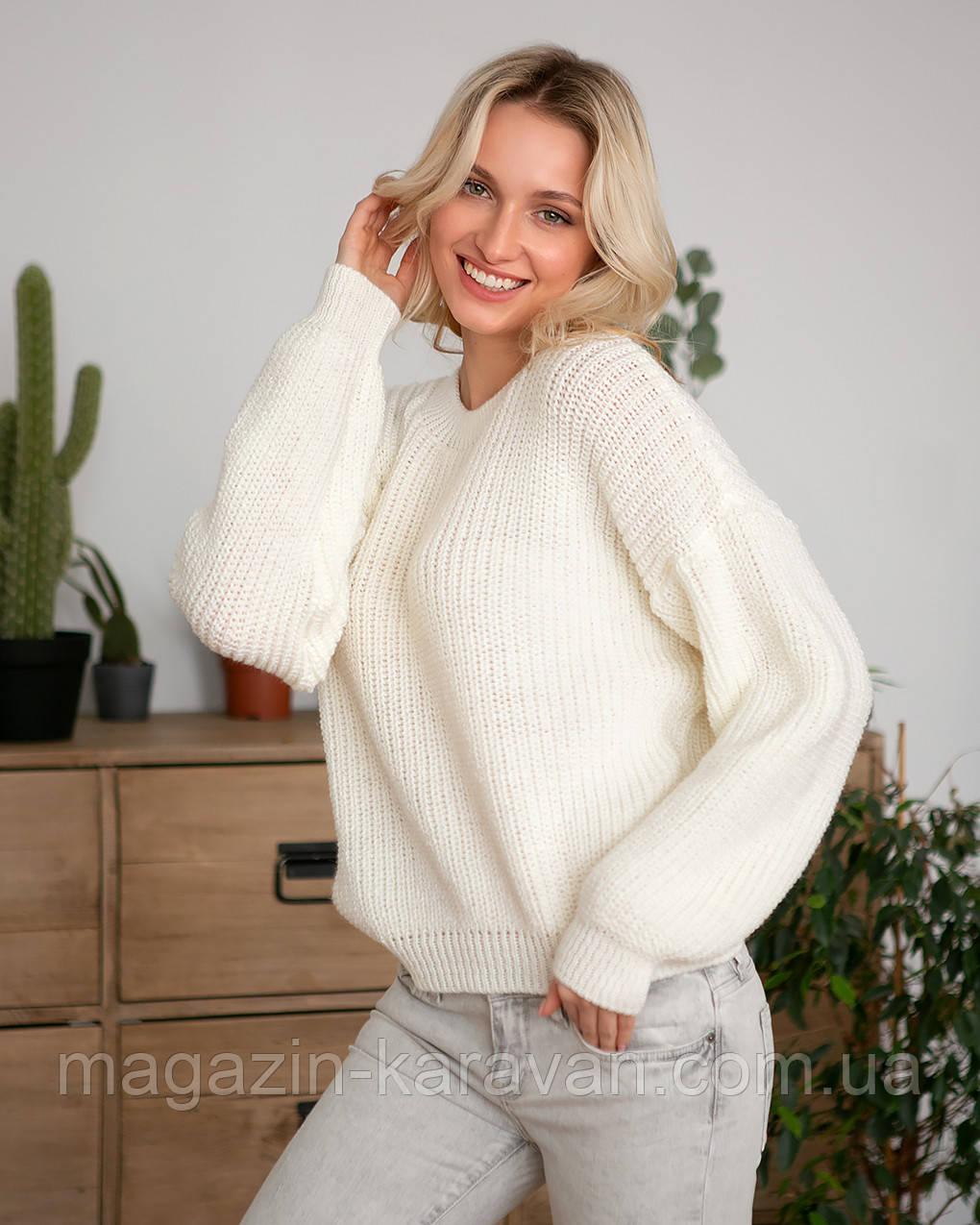 Модный женский свитер (S-M)