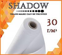 "Агроволокно   белое 30 г/м²  1,6 х100 м. ""Shadow"" (Чехия) 4%"