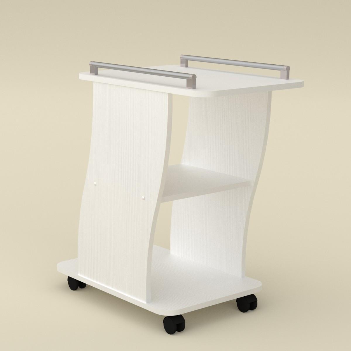 Стол журнальный Вена нимфея альба (белый) Компанит
