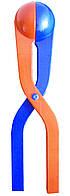 Щипцы для лепки снежков, игрушка снежколеп, цвет - красно-синий, Дитячі товари для активного відпочинку, Детские товары для активного отдыха